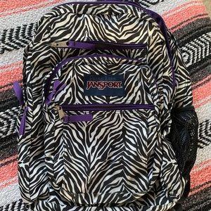 Jansport Zebra backpack